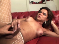 Trans Latina Fucks Ass