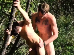 Young Thick Dick Boys Gay Outdoor Pitstop There's Nothing