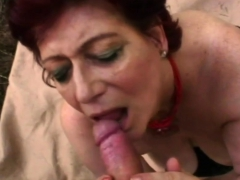 Redhead Cutie Playing With Big Cock