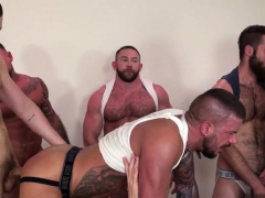 Muscle Son Fetish With Cum Eating