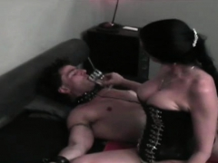 Slave Fastened Up And Suffocated