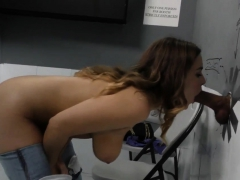 Gloryhole Cutie Sucks Bbc