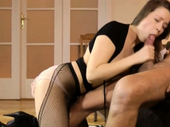 Gorgeous Teen Anally Drilled By Old Man