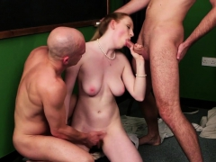 Cockhungry Uk Schoolgirl Gives Blowjob