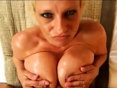 My Slutty Big Tits Girlfriend Titfuck Compilation Part7