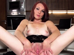 Slutty Czech Kitten Stretches Her Yummy Pussy To The Strange