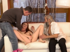 Daddy And Beauty Playfellow's Daughter Fuck Me In My