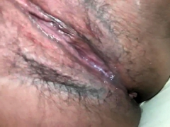 latin brunette close up fuck clit