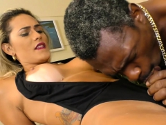 Black Guy Sucks Shemale Cock And Fucks Her Ass