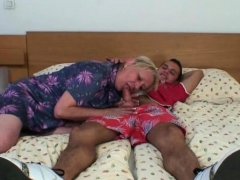 old slut likes it from behind