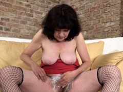 Hairy Housewife Getting A Naughty Shave