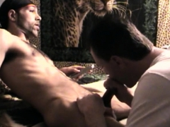 eating-cum-off-straight-black-cock