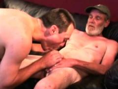 Mature Amateurs Paul And Bill Sucking