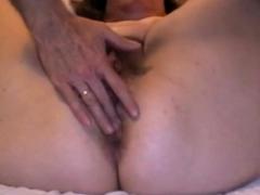mature butt to cunt creampie