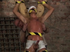 Football Sex Porn Gay Blindfolded, Gagged, Tantalized And