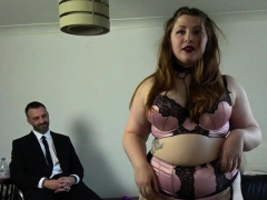 Fat submissive fucked