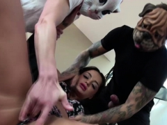 Lovely Slut Daphne Klyde Loves A Hard Threesome Fuck