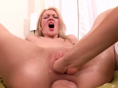 Foxy Lesbo Models Are Stretching And Fisting Anal Holes27diq