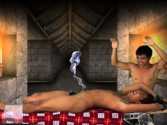 Asian Twink Josh Tied And Tickled