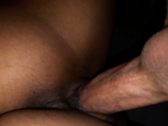Indian Girl Fucked And Creampied By White Dick Close-up