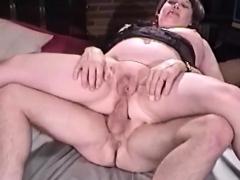 Granny Asshole Sit On Penis