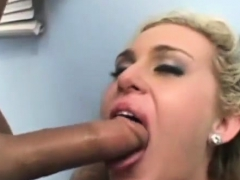 Blond slut rimjob
