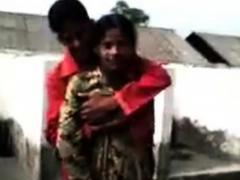 Indian Boy Press Girl Boobs