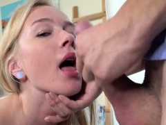 Blonde Hottie Effy Sweet Loves Masseurs Big Cock