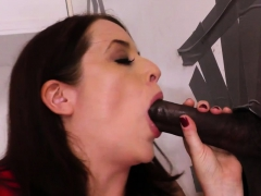 Maggie Green Interracial Gloryhole Sex