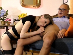 18yo spex schoolgirl facialized by uk senior - 3 part 1