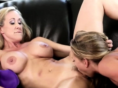 Busty Stepmom Is Licking And Strapon Fucks Her Stepdaughter