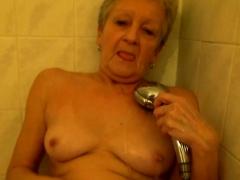 Blue Eyed Cutie Vs Lesbian Granny