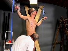 Gay Groups Male Bondage Slave And Chair Mark Is Such A