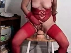 Mature Bj Playing With Toys