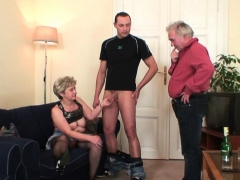 old-granny-takes-two-cocks-from-both-sides