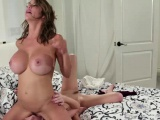 Lazy Riley fucked by her stepmom
