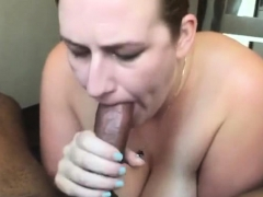 Interracial Blowjob And Handjob