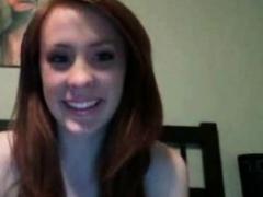 Redhead Boob Flash