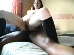 Amateur Teen In Hardcore Interracial Video