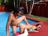 Verified amateur shower fuck Swimming In Semen