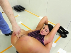 bdsm training taking it up her ass, licking the doctor's HD
