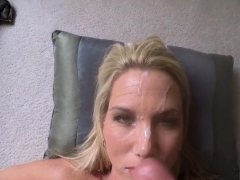 Wifey In Her Comfort Zone Cum Facial