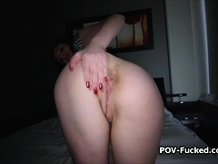 Cocking Juicy Busty Teen From Behind On Video