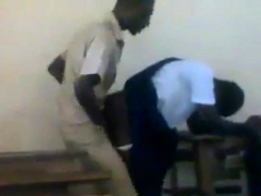 woman african students fucking doggstyle in class