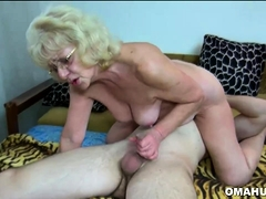 blonde granny penetrated