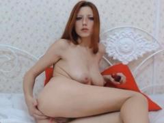horny petite babe dildo fuck her cunt