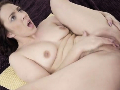 brunette amateur hardcore and cum on butt