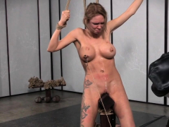 Bigtitted Babe Gagged And Tied Up By Maledom Porn Video