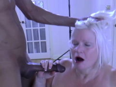 laceystarr – bbc double team works on insatiable granny