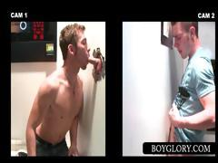 Gloryhole Dude Gets Dick Sucked